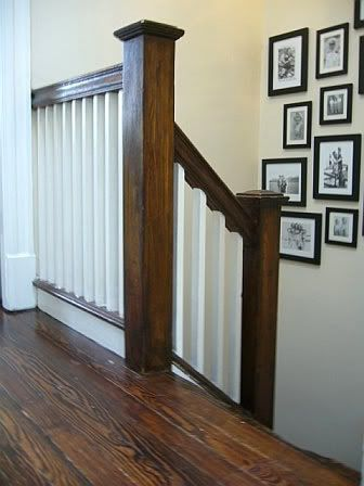 RowHouse blog: decor, designs, and stylish finds: Refurbishing our stairwell banister