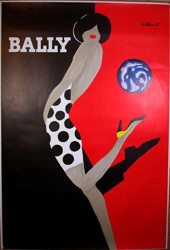 Bally Vintage poster