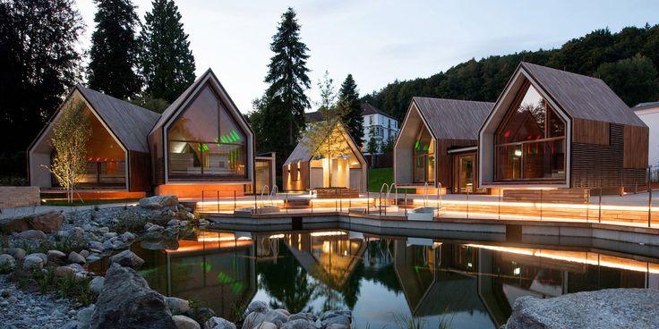 Gallery of Jordanbad Sauna Village / Jeschke Architektur&Planung - 5