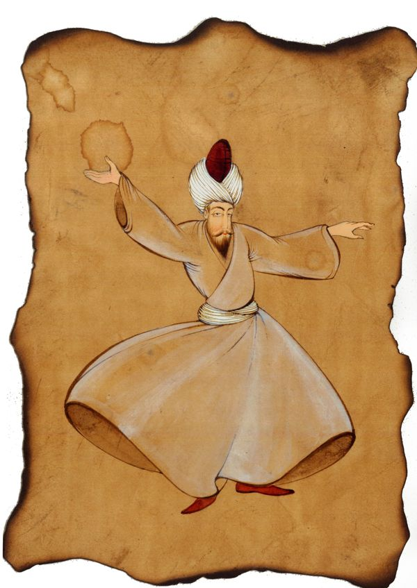 sufi by yasemin akyol, via Behance