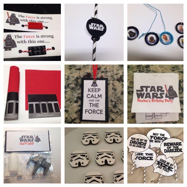 Star Wars party craft