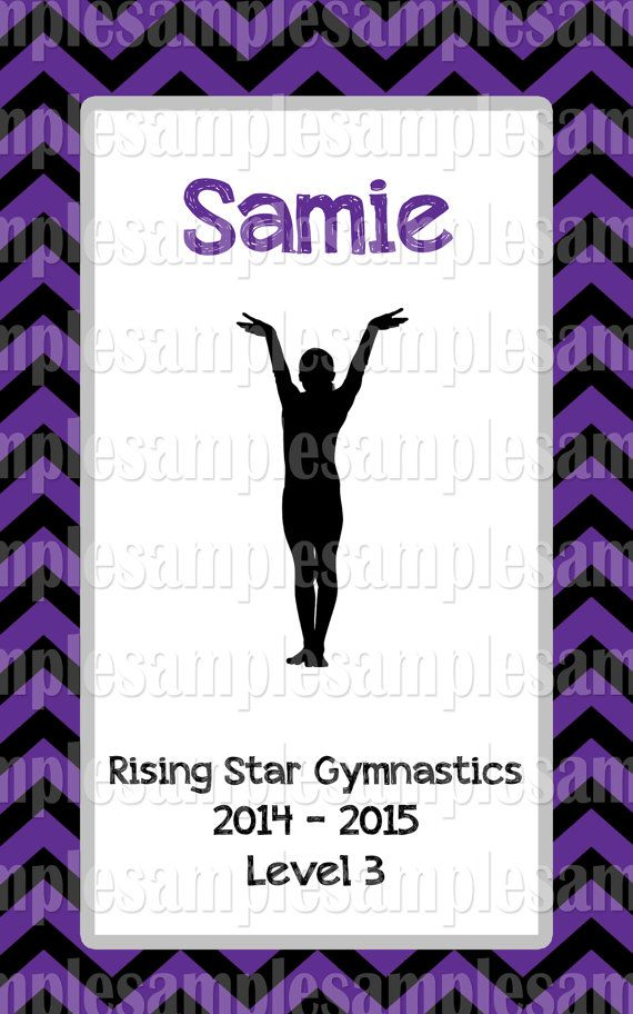 Gymnastics Score Book Custom designed and by MyMeetBook on Etsy