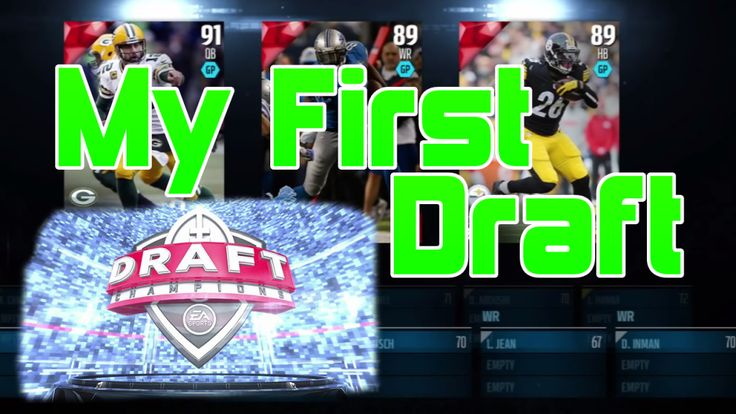 Madden 16 Draft Champions is awesome! Check out my first Draft Champions draft with live commentary. I also feature my first Draft Champions game! Madden 16 is here!