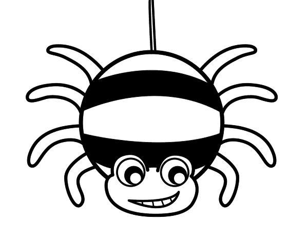 Arañas De Halloween Para Colorear: Más De 25 Ideas Increíbles Sobre Dibujo De Araña En