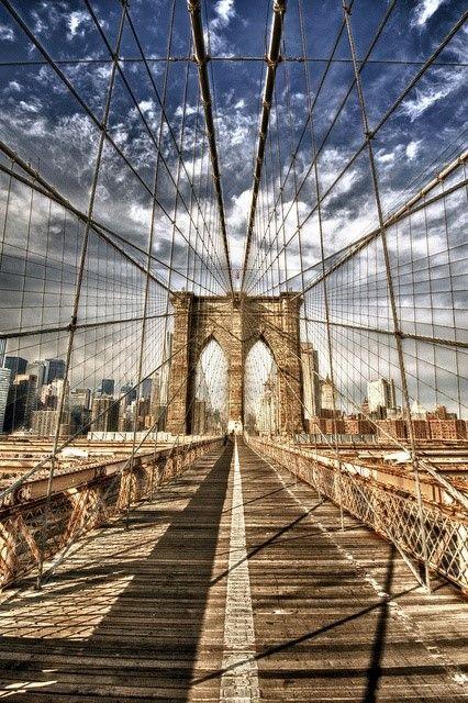 Walking with the #BrooklynBridge