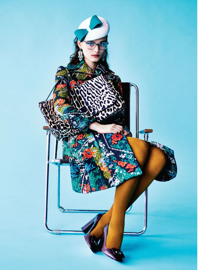 geek off: sibui nazarenko by michael sanders for uk marie claire october 2015 | visual optimism; fashion editorials, shows, campaigns & more!