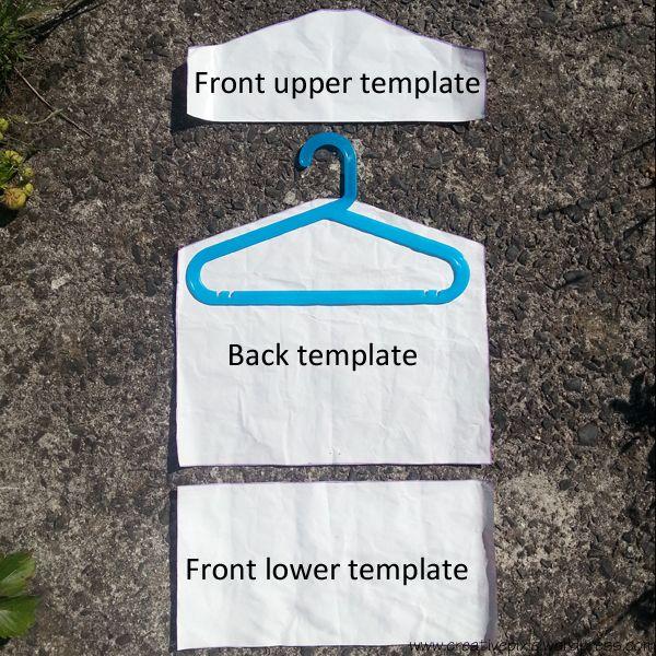 creative pixie peg bag templates step2                                                                                                                                                                                 More