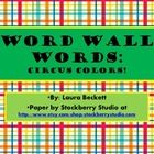 This is a large assortment of Word Wall display words!  The list is derived from the MLPP list, color words, and words seen in every day reading an...