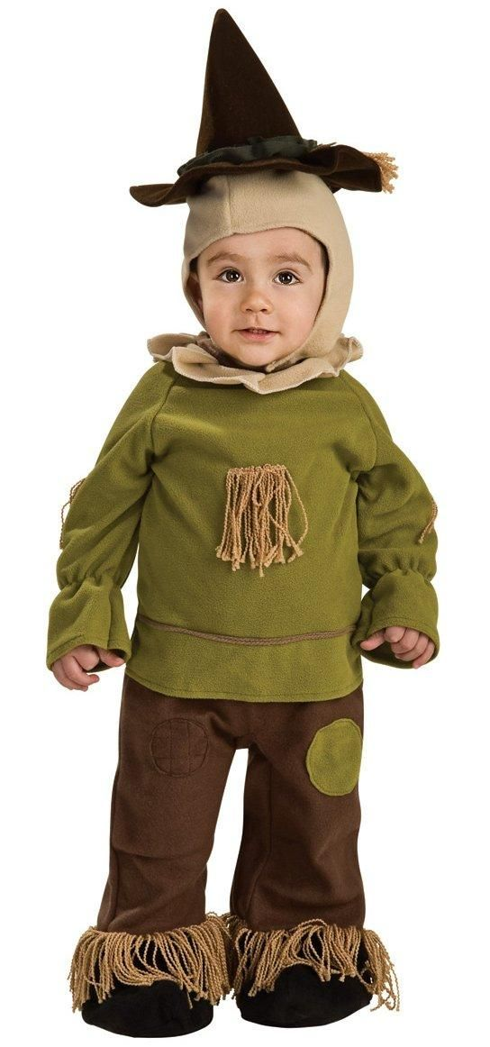get this little scarecrow toddler costume for your wizard of oz group costume this halloween