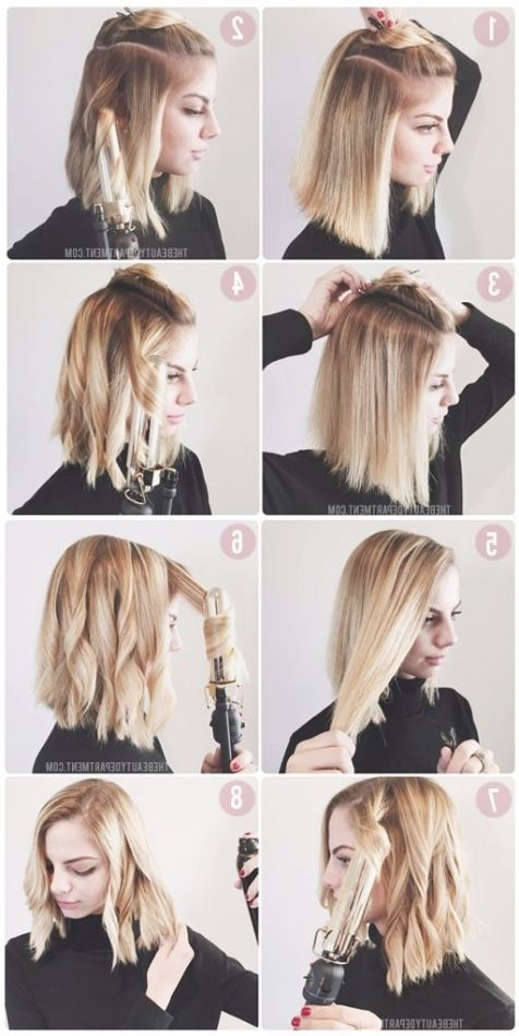 Long Bob Frisuren Tutorial Haare Einfache Frisuren Mittellang