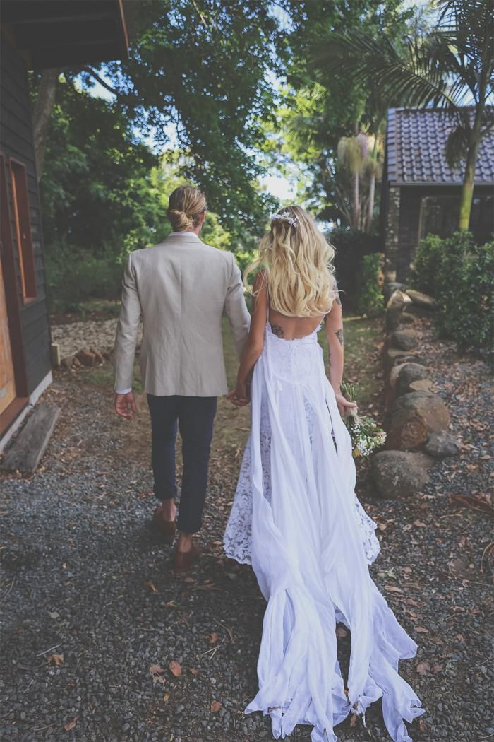 Josefin in the HOLLIE gown | Grace Loves Lace
