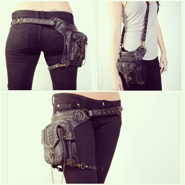 steampunk holsters bag | apocalypse # apocalyptic # holster bag