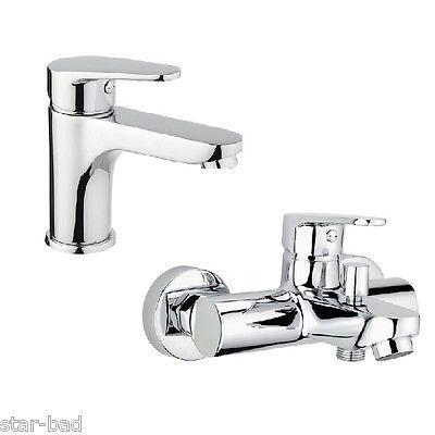84€ Waschtischarmatur  Waschbecken Armatur  Badewannenarmatur Wannenarmatur chrom