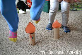 Creative Family Fun: Jack Be Nimble Candlestick Craft