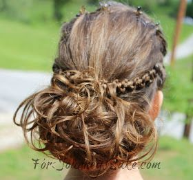 For Journey's Sake: Up-Do Hair-Dos for Longer Hair and Some Inspiration for Pinterest