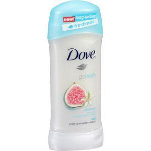 Dove Go Fresh Restore Blue Fig & Orange Blossom Scent Anti-Perspirant Deodorant, 2.6 oz