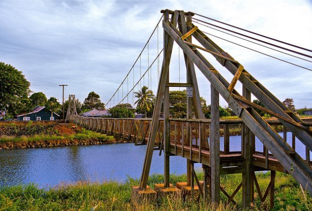 Hanapepe Swinging Bridge Kauai Hawaii Kauai In 2019