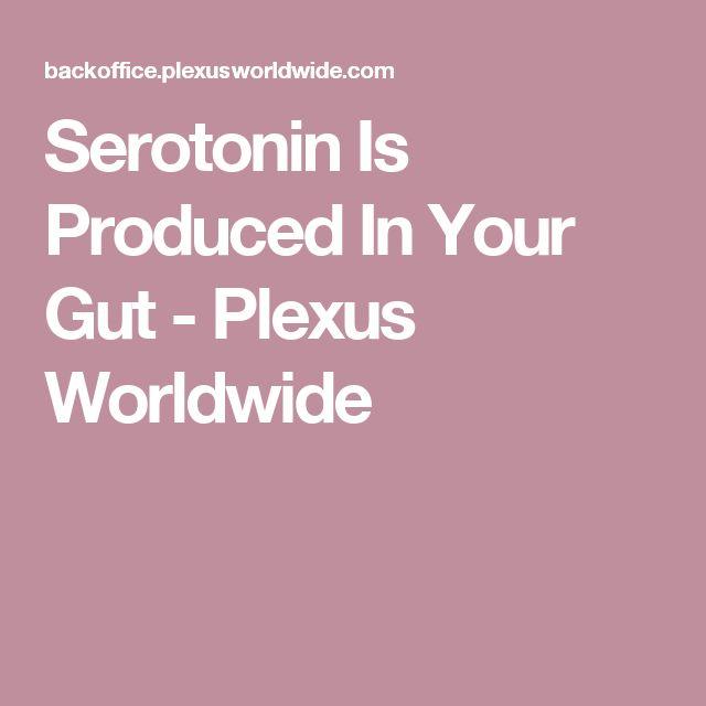 Serotonin Is Produced In Your Gut !!             #Plexus #PlexusPrimed #Serotonin #HealthyGut  #Slim                                   Facebook.com/plexusprimed