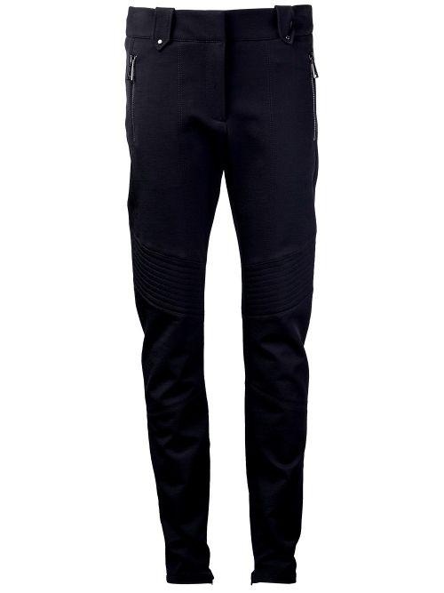 Black Paley Moto Pant