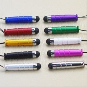 Colorful Aluminum small stylus for iphone/ipad