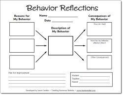Behavior management sheets! These could come in handy when teaching middle-school music..