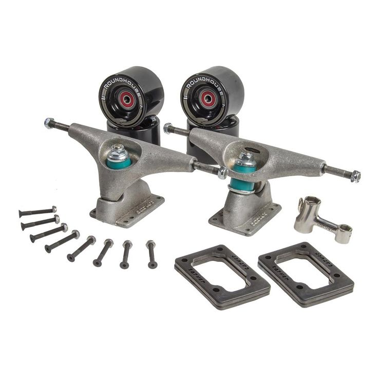 """Carver Skateboards - 6.5"""" CX.4 Truck Kit - Raw (With ..."""