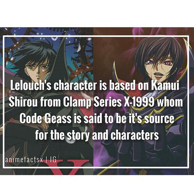 X-1999, Code Geass