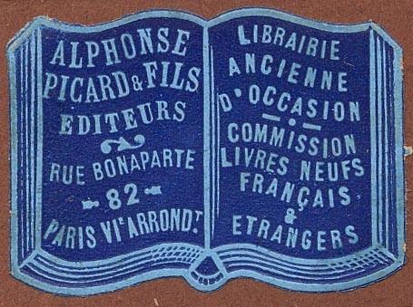 Book Trade Label