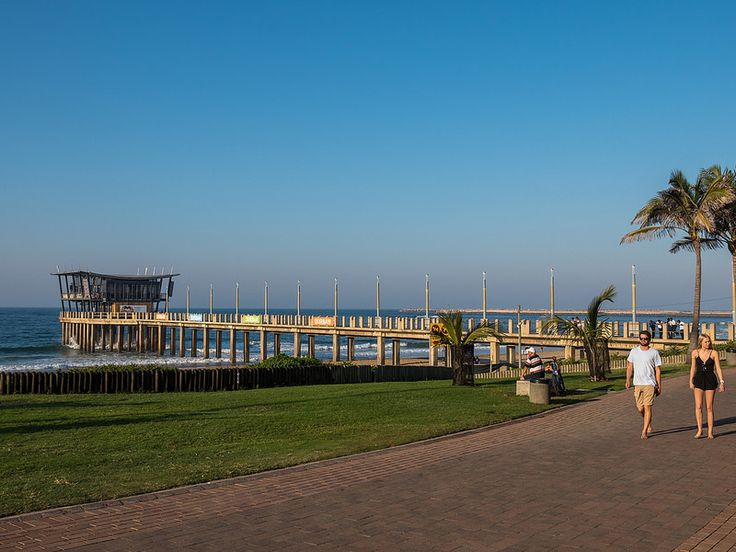 Moyo Pier at Addington Beach, Durban, KwaZulu-Natal, South Africa | by South African Tourism