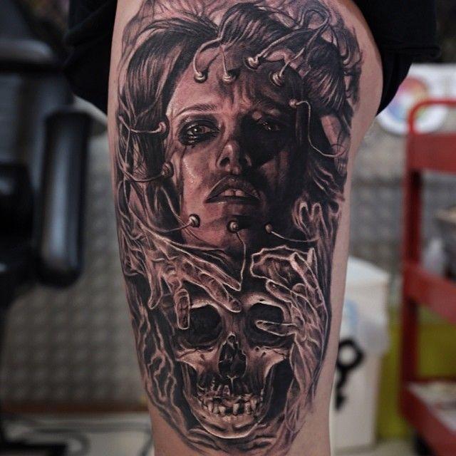7 best my tattoo work images on pinterest tattoo art for Skin works tattoo