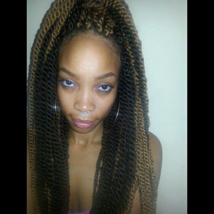 beautiful braids/twists on Pinterest Protective styles, Crochet ...