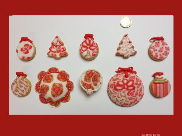 Biscotti e mini cakes per Natale