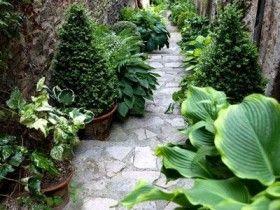 Садовые ступеньки в английском стиле