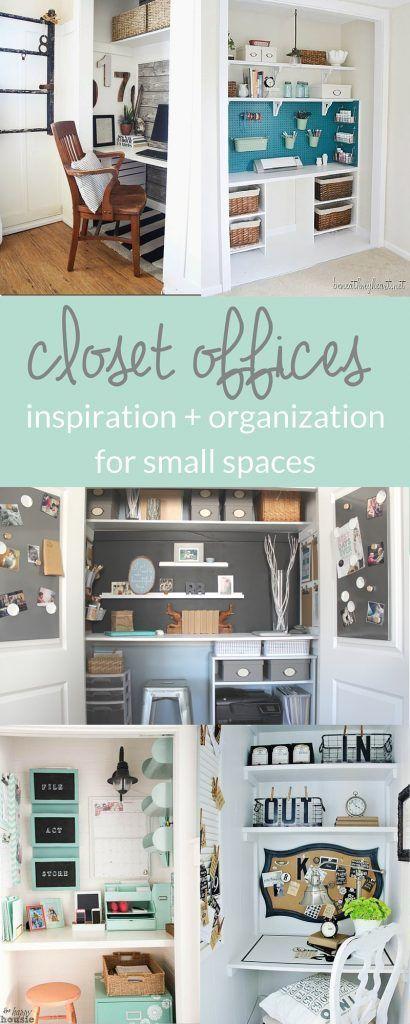 Inspiring Closet Offices