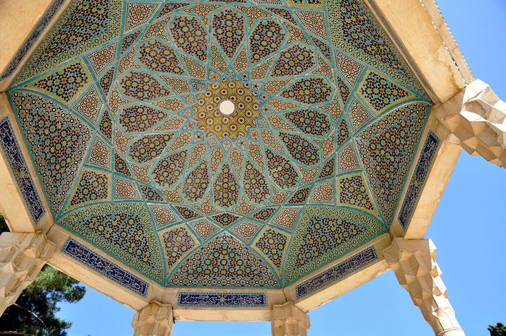 Patterns of Tomb of Hafez