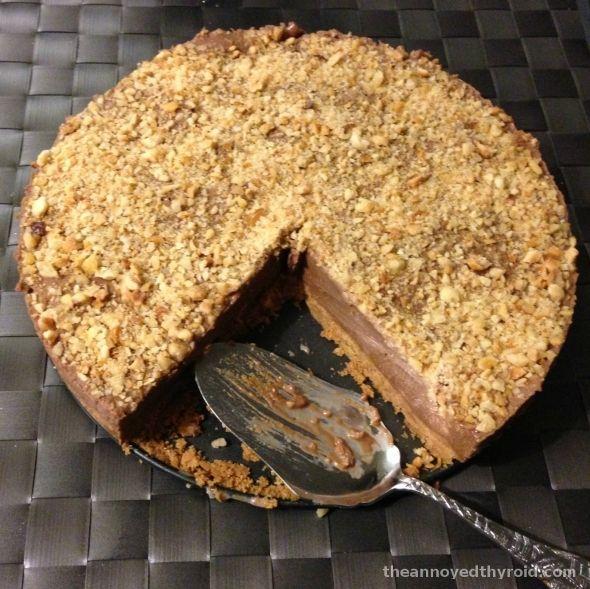 {Thermomix} Thermomix No Bake Nutella Cheesecake