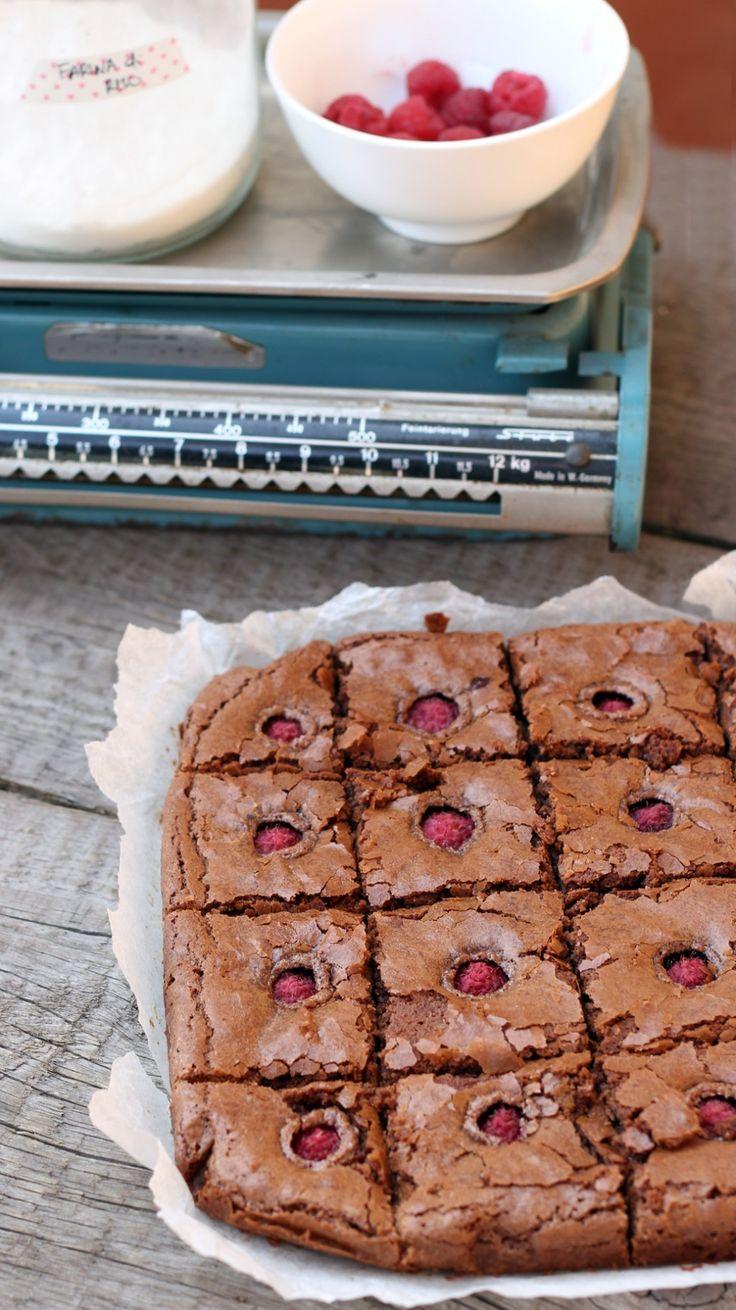 brownies lamponi1gluten free