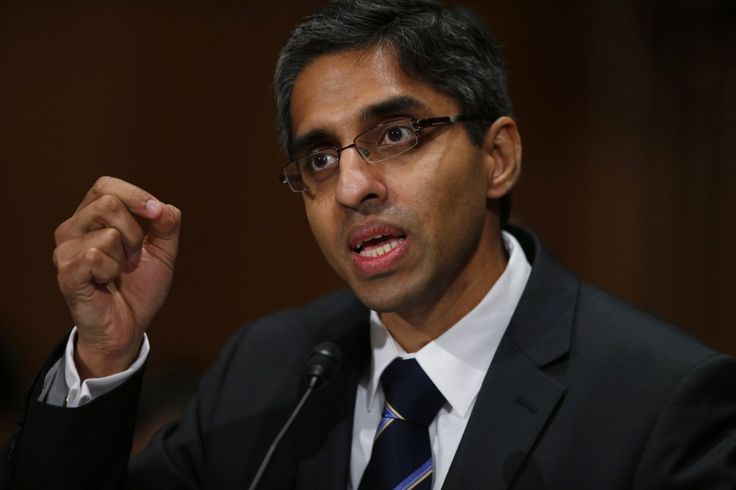 Surgeon General Vivek Murthy wants to move U.S. health care toward a 'prevention-based society'