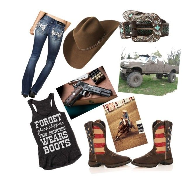 country girls by taylorinpc on Polyvore featuring polyvore fashion style Miss Me Durango Bailey Western M&F Western country clothing