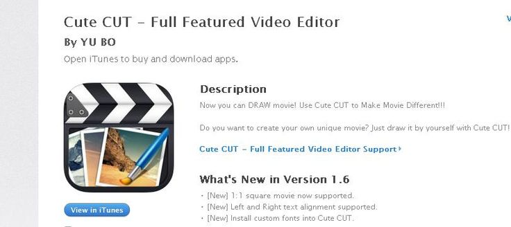 App para hacer vídeos desde fotografías, etc.