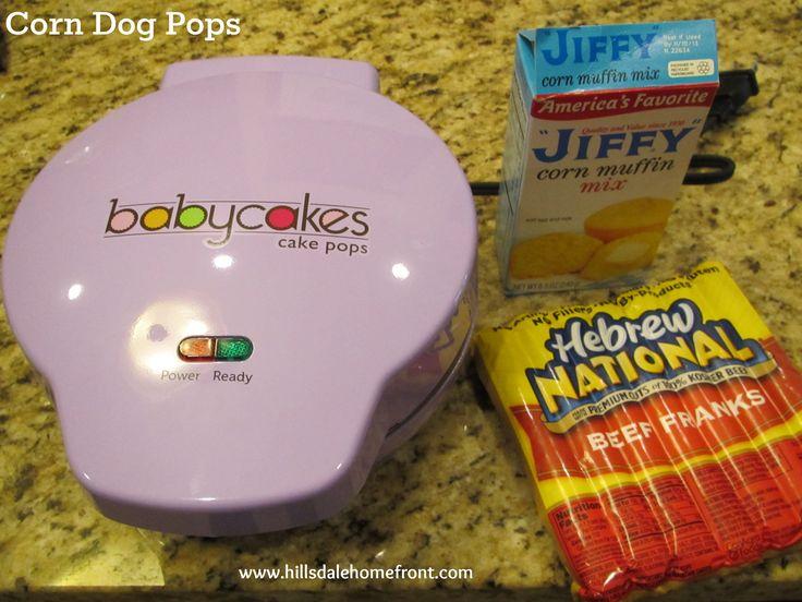 babycakes mini cake pop maker instructions