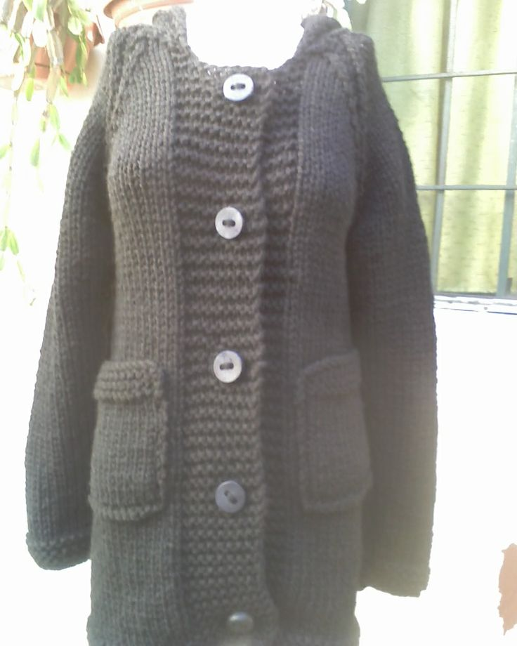 17 best images about sacones de lana on pinterest vests - Tejado a dos aguas ...