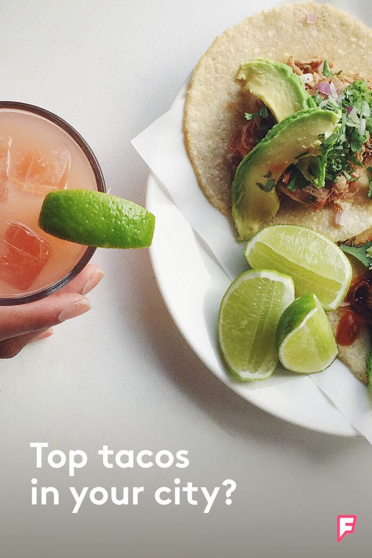 What makes Tuesday better? Tacos of course. This week let Foursquare lead you to a new place you and your friends will love.