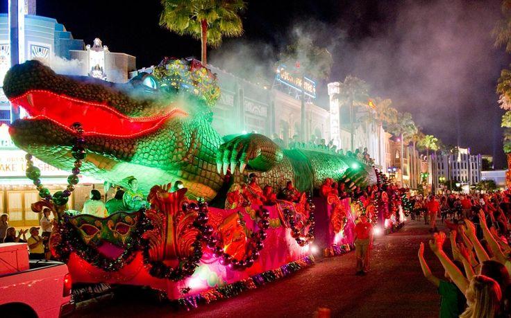 A famosa celebração de carnaval inspirada nas festividades de New Orleans está de volta ao Universal Orlando Resort em noites pré selecionadas entre 6 de fevereiro à 16 de abril. A versão familiar dessa celebração vai trazer muita diversão ao Universal Studios Florida. Shows, comidas especiais e desfiles vão abrilhantar os seus dias no parque em Orlando!