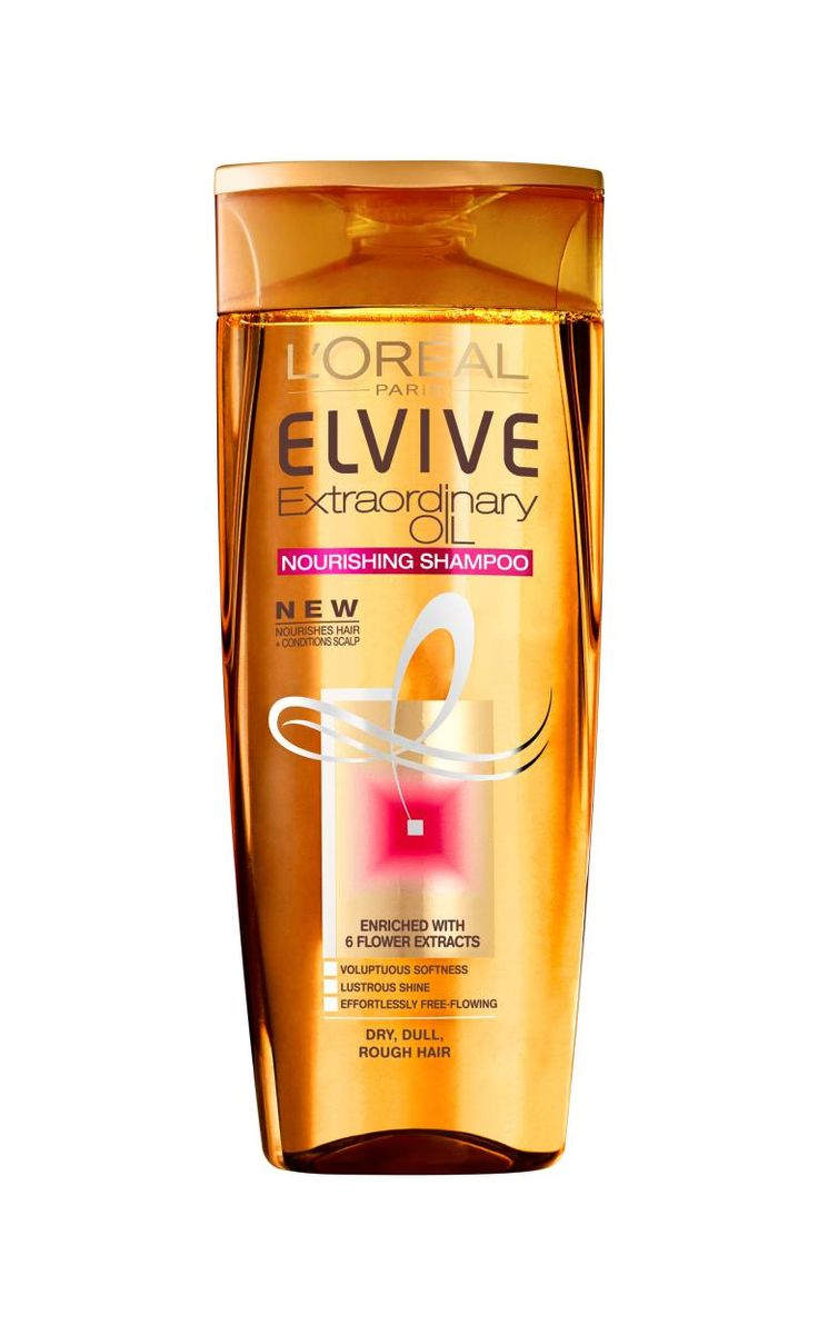 Elvive Extraordinary Oil Shampoo Dry-LOREAL