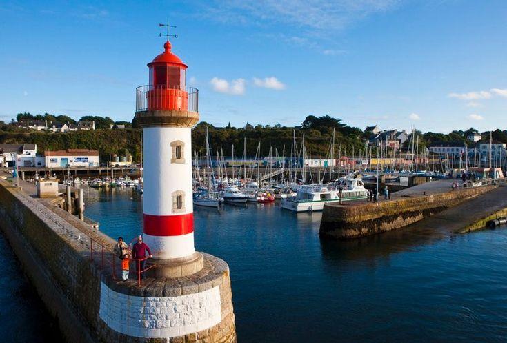 L'île de Groix face à Lorient: paradis des randonneurs, et des amoureux de grands espaces en Bretagne.