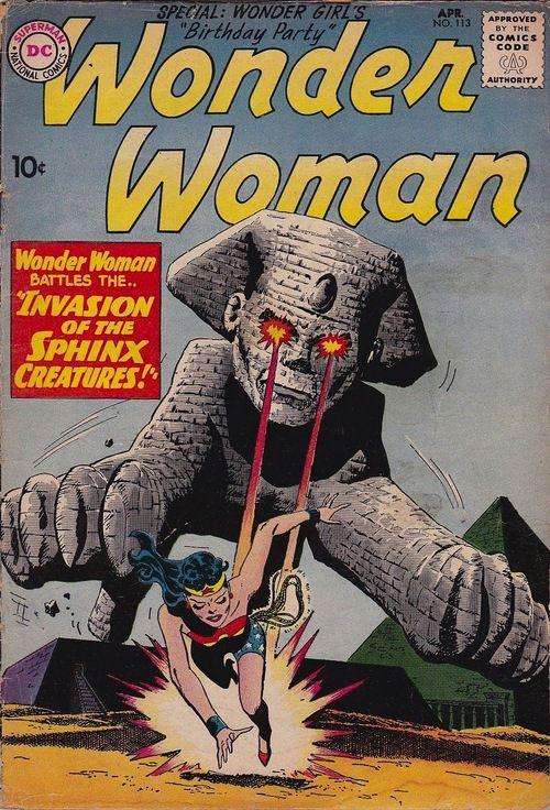 """""""Invasion of the Sphinx Creatures!"""""""