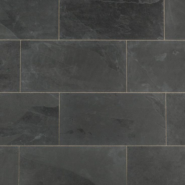 BuildDirect – Slate Tile – Montauk Black
