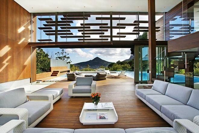 """""""Spa House"""" home near Cape Town, South Africa by Metropolis Design. (via designrulz.com)"""
