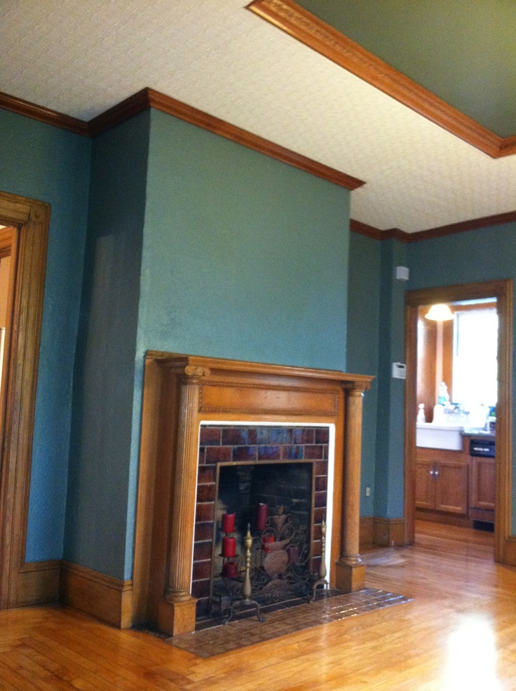 Our New Dining Room Paint Color Behr Wild Sage Ideas